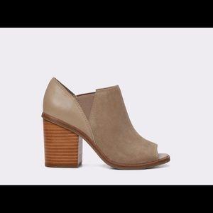 JACQUELINE Beige Peeptoe ALDO Shoes Sz 10